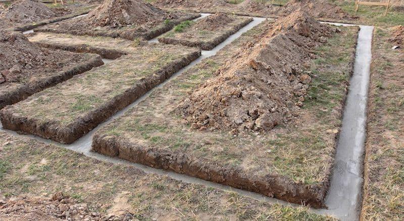 Turnare beton egalizare fundatie
