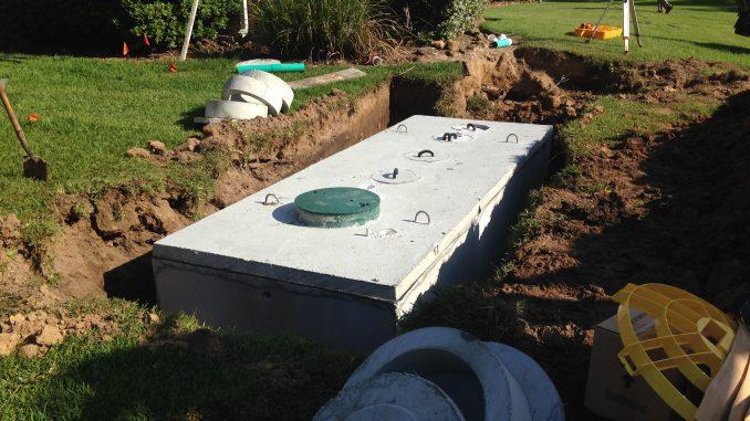 fosa septica din beton prefabricat cu capac