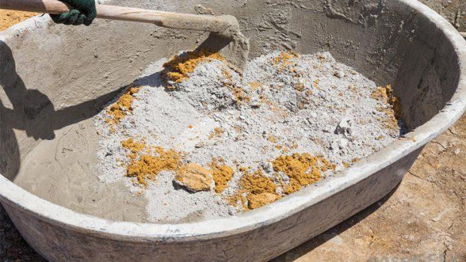 ciment beton balast