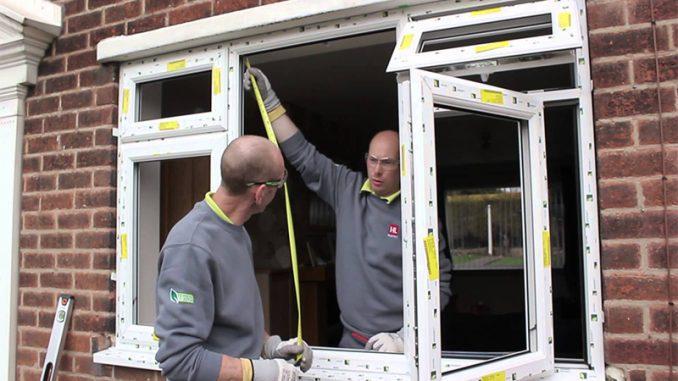 cum se monteaza geamurile termopan