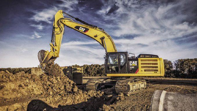 excavarea fundatiei cu buldozerul