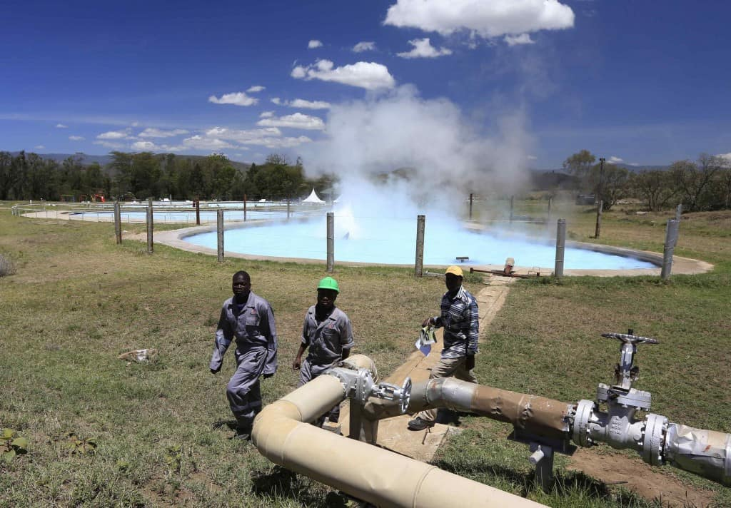 incalzirea cu apa geotermala kenya