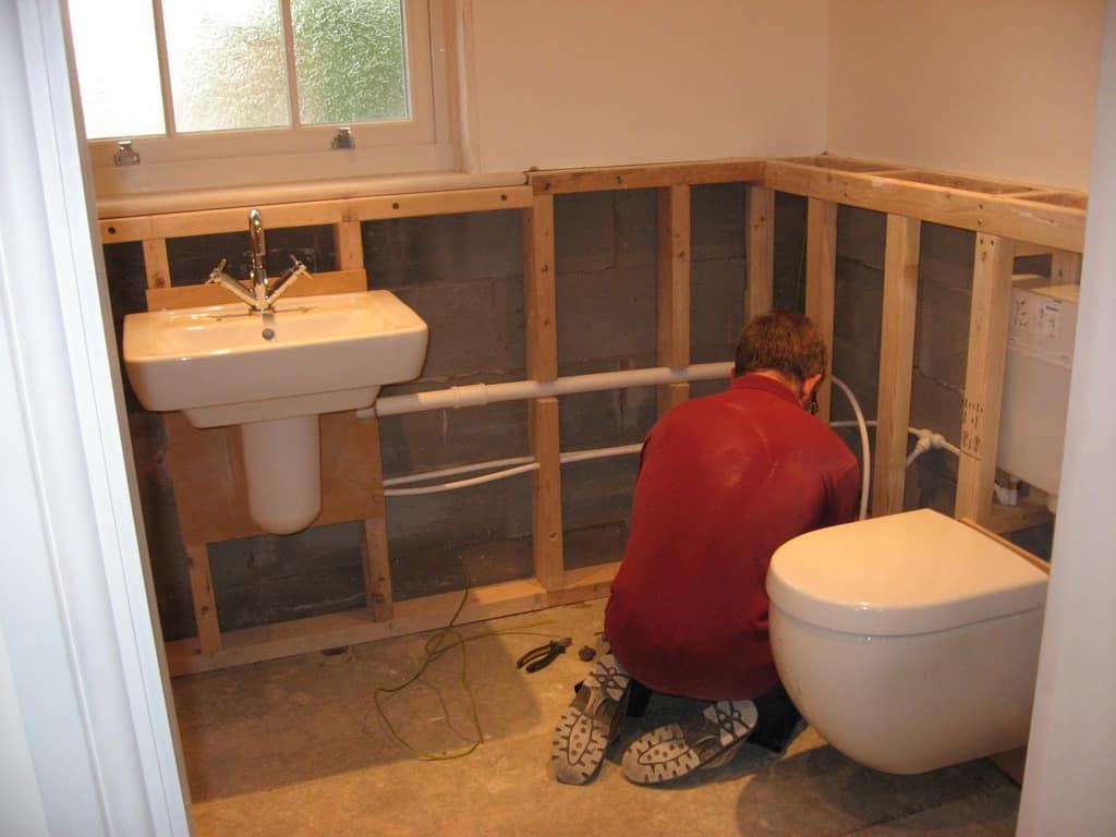 instalatie canalizare casa lemn