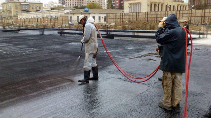 reparatie terasa cu bitum