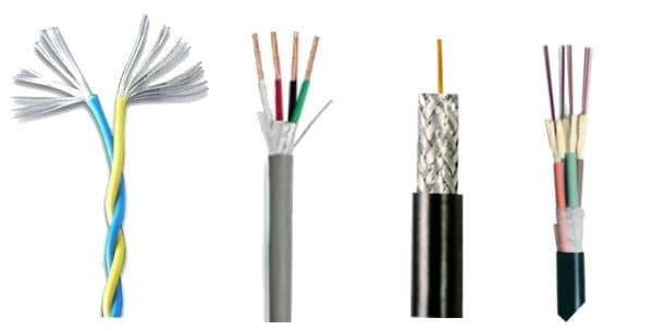tipuri de cabluri electrice