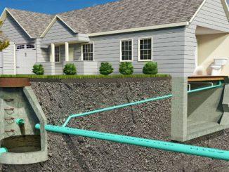 sectiune canalizare casa