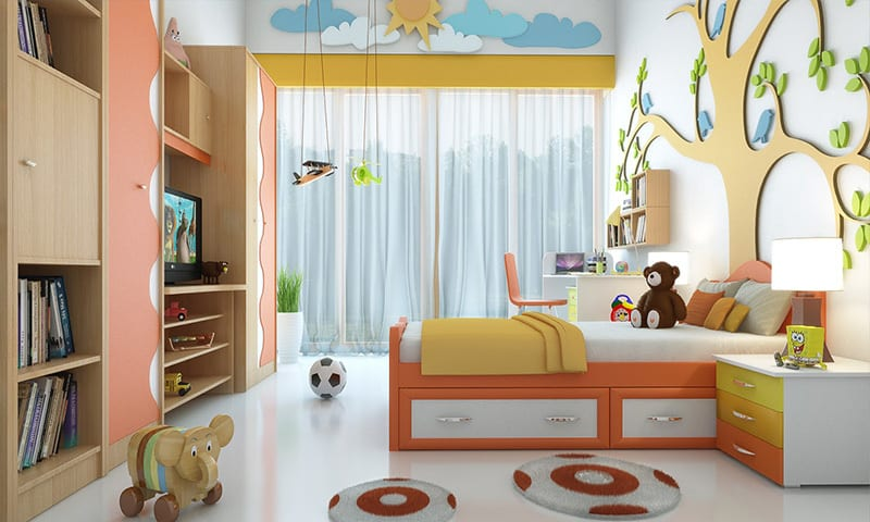 Amenajare camera copil 4