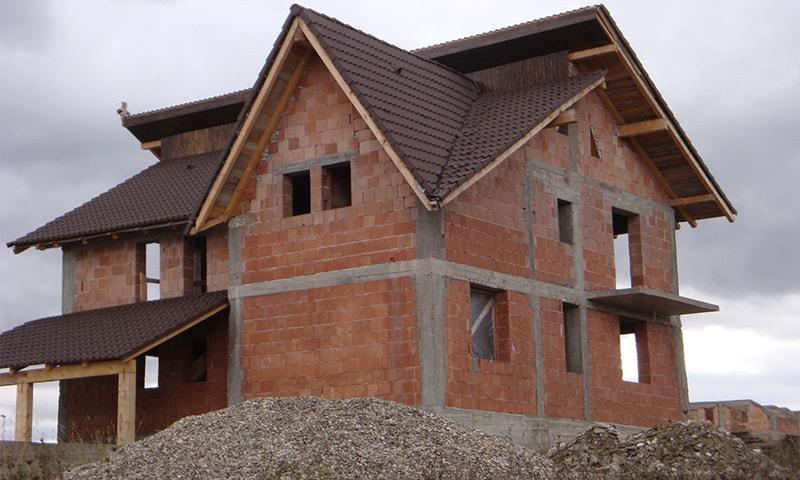 casa cu structura portanta