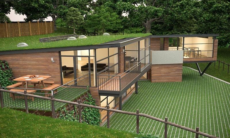 casa ecologica