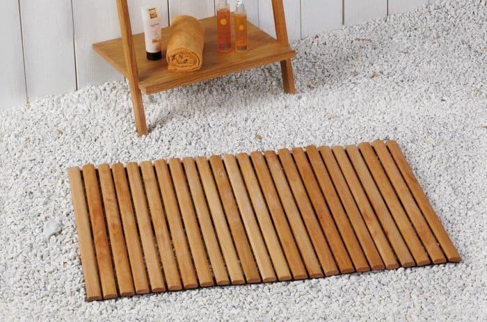 covorase de baie din lemn