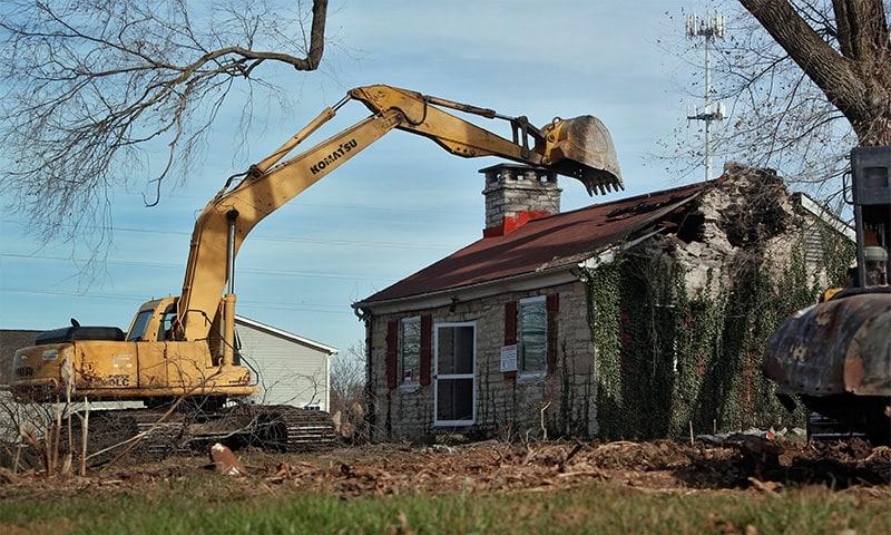 demolarea casei