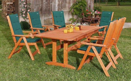 mobila din lemn pentru gradina