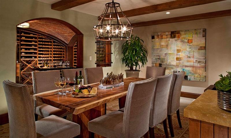 mobilier pentru depozitarea vinului
