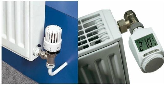 termostat radiator electronic
