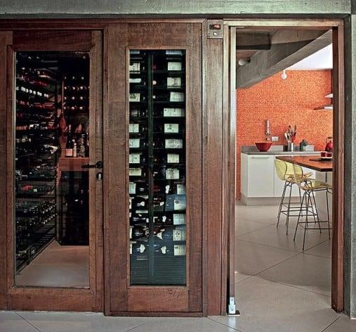 vinoteca in casa