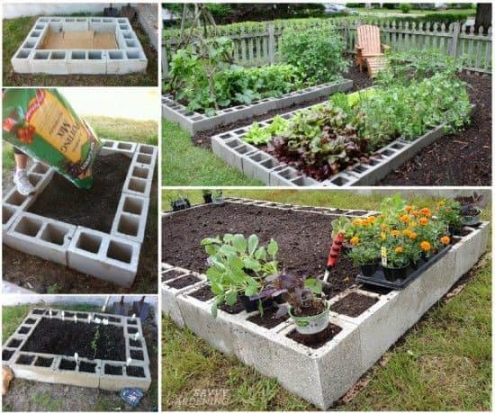 10. jardiniere din boltari pentru flori