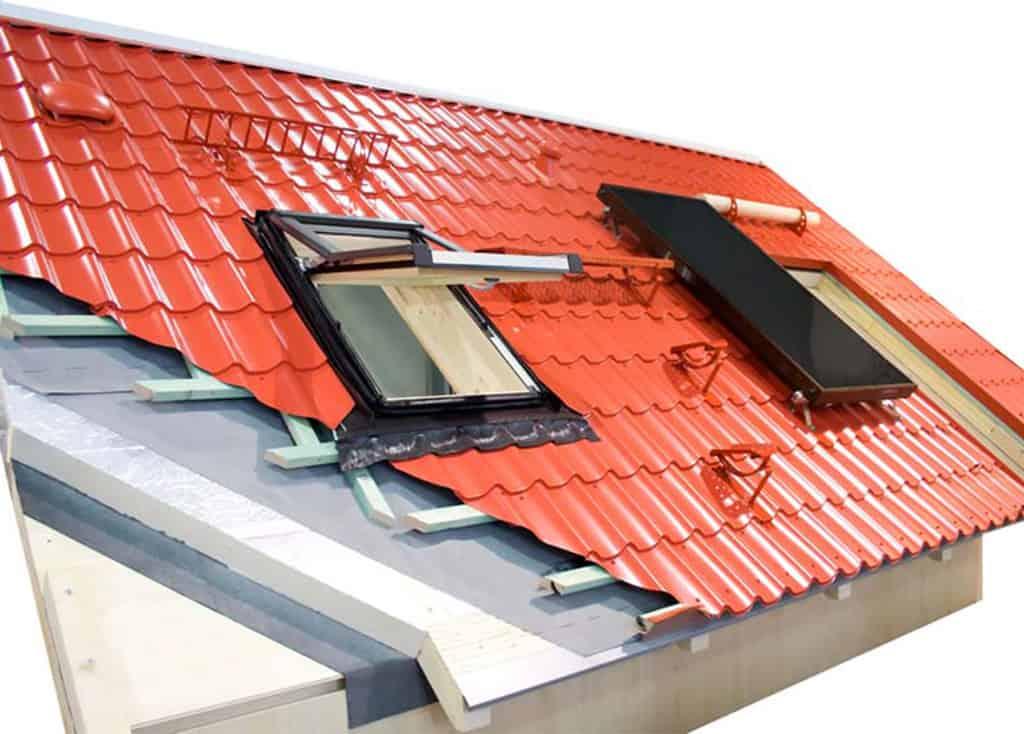 accesorii acoperis din tigla metalica