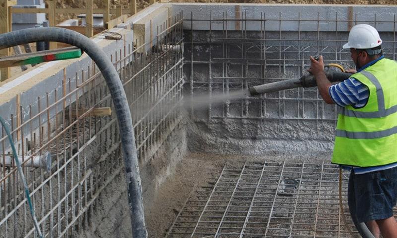 ce este torcretarea cu beton sau mortar