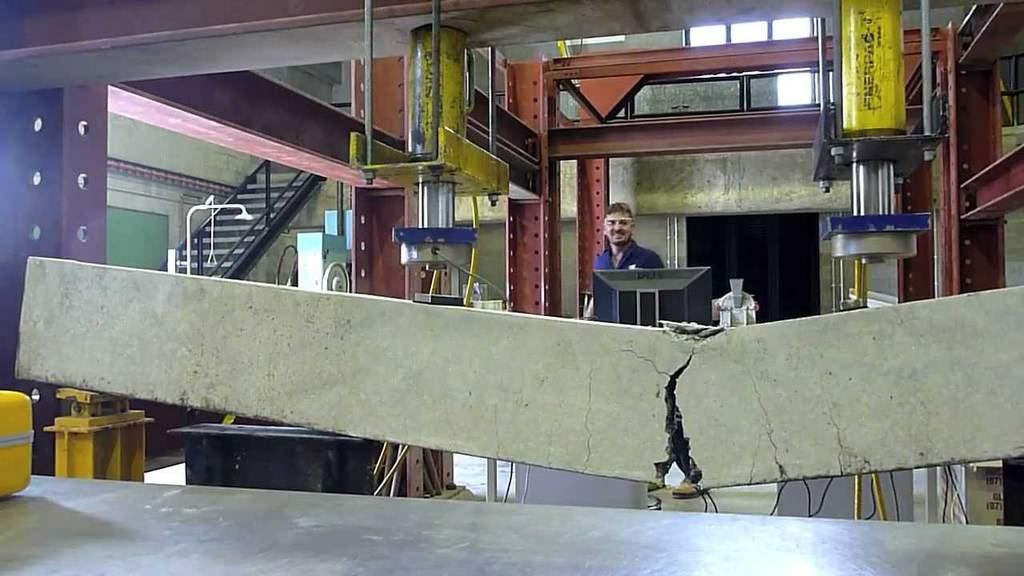 cum se testeaza grinzile din beton armat