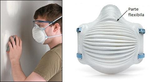 masca pentru protectie contra prafului rigips