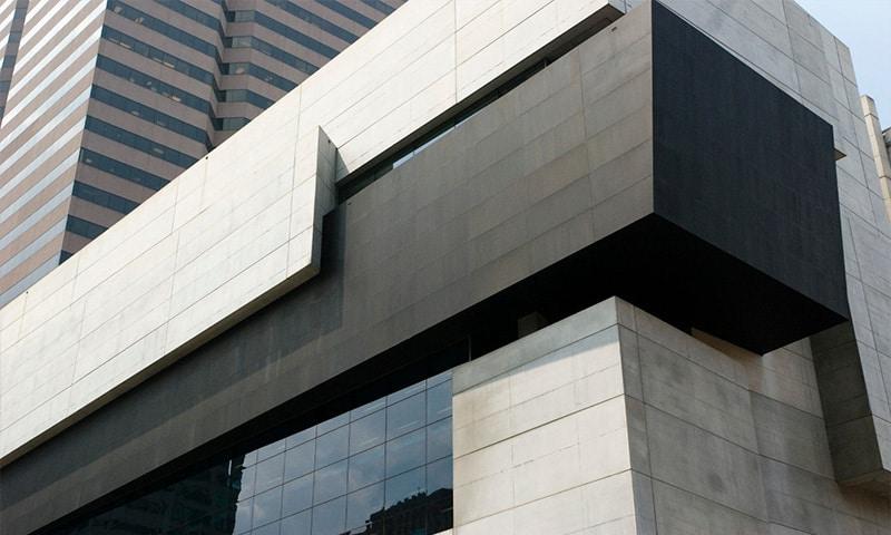 beton aparent fatada cladire
