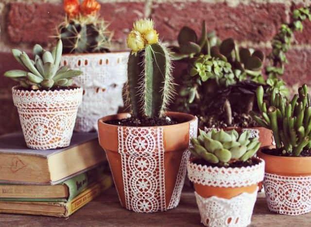 cum sa decoram ghivecele de flori 1