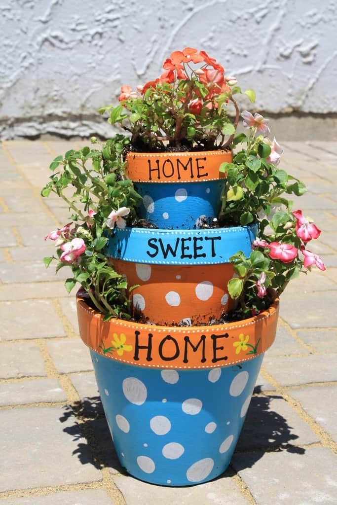 cum sa decoram ghivecele de flori 14