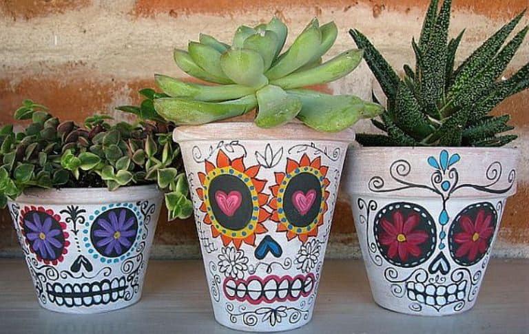 cum sa decoram ghivecele de flori 24