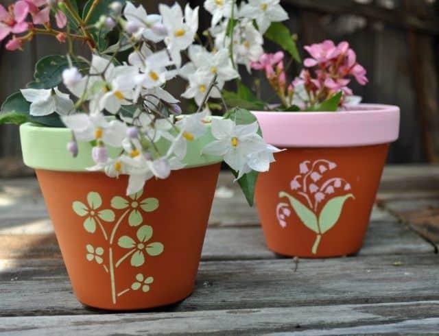 cum sa decoram ghivecele de flori 6