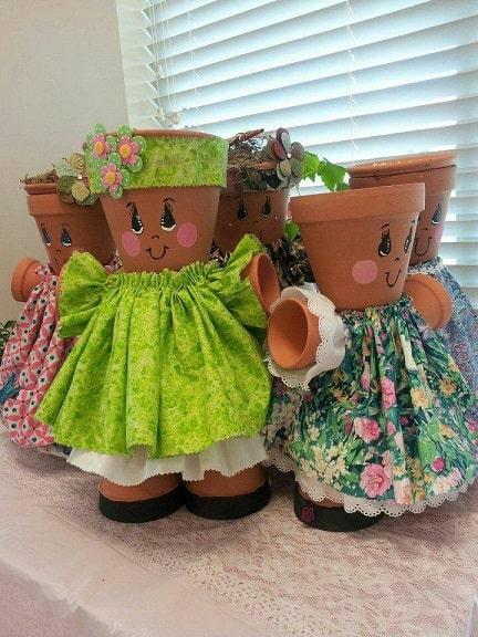 cum sa decoram ghivecele de flori 9
