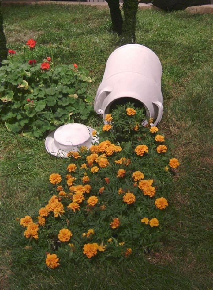 suport ghiveci de flori 17