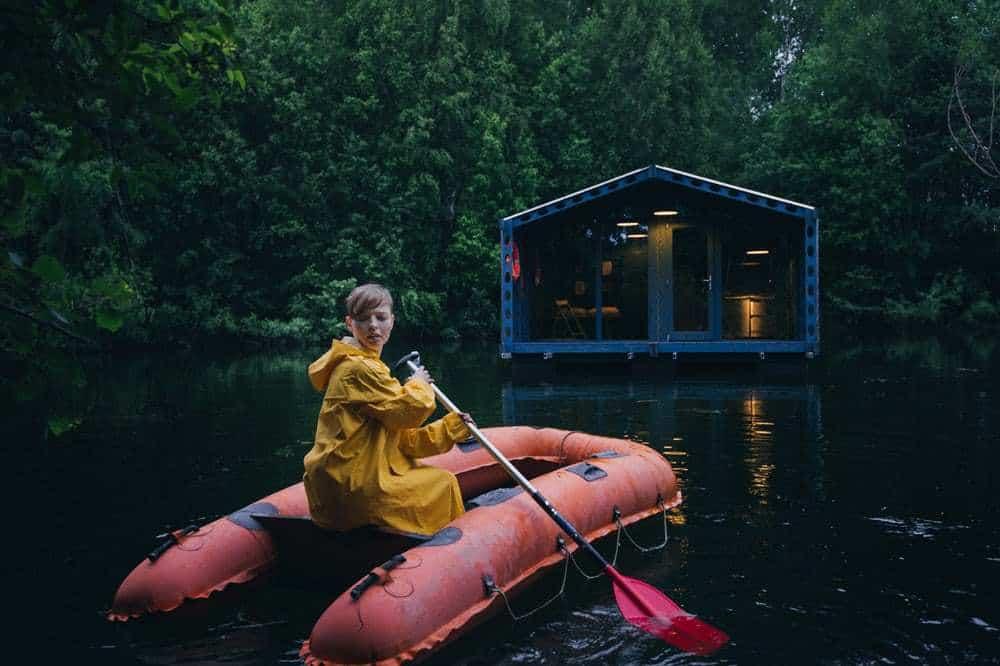 cabana pe lac 1