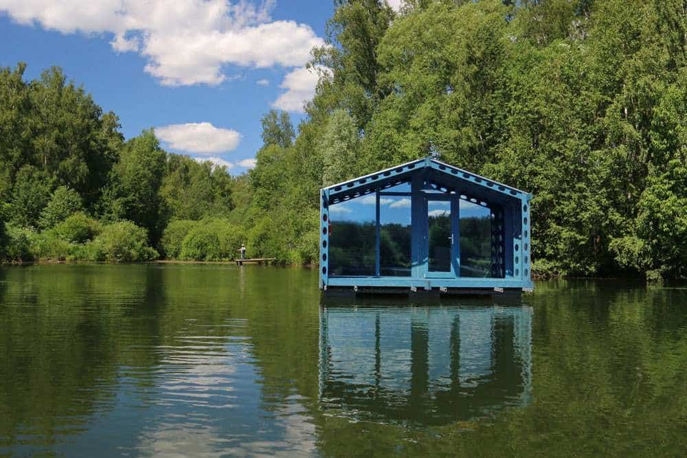 cabana pe lac 11