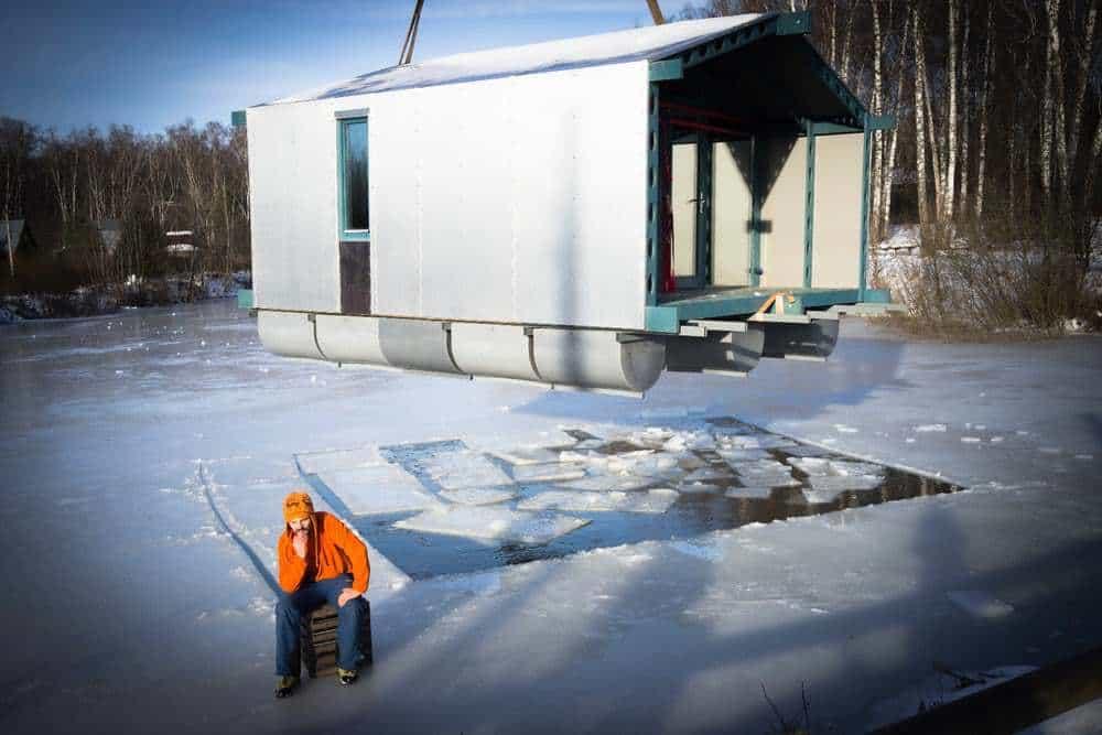 cabana pe lac 15