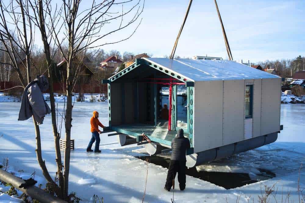 cabana pe lac 17