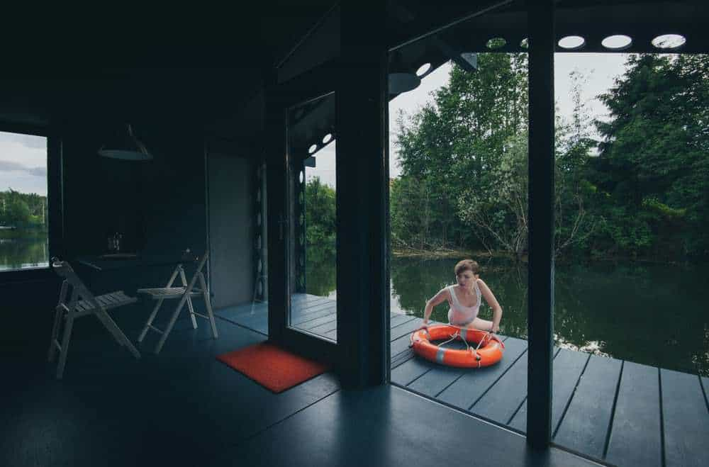 cabana pe lac 2