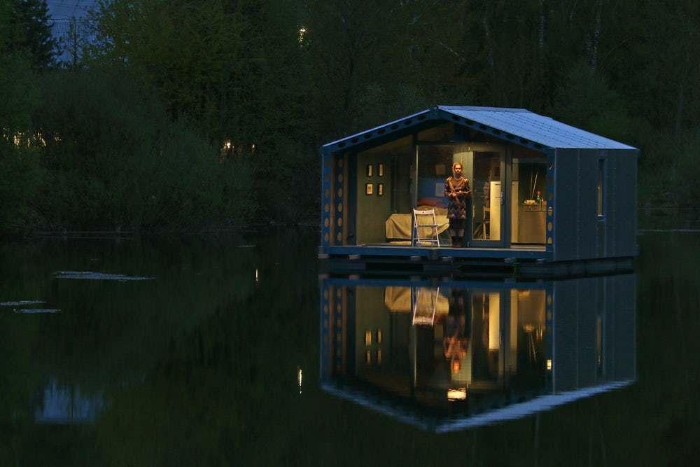 cabana pe lac 20