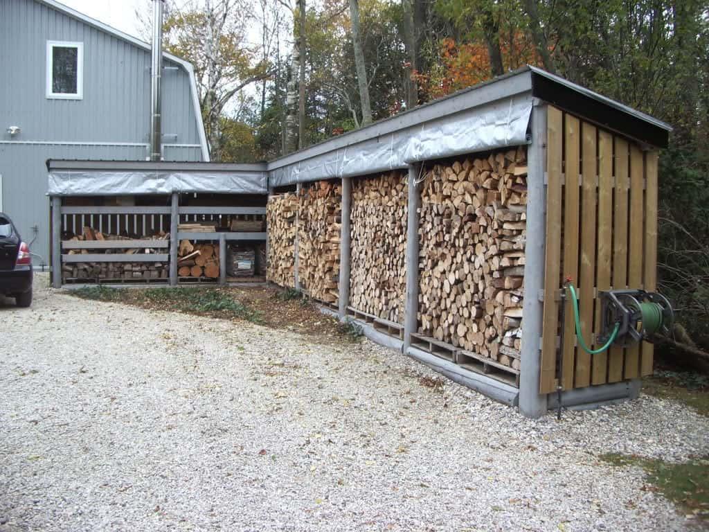 cum depozitam lemnele corect