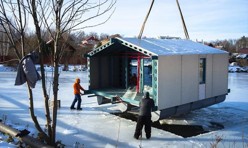 proiect cabana pe lac