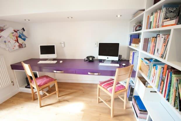 birou mov pentru adolescenti
