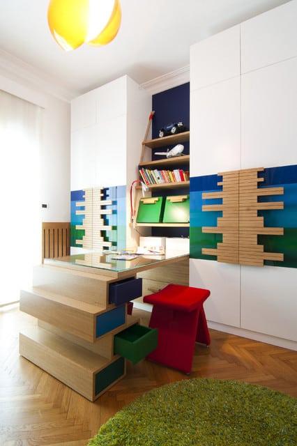 camera de studiu pentru copii mici