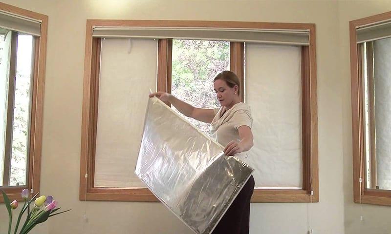 izolarea geamurilor cu paturi