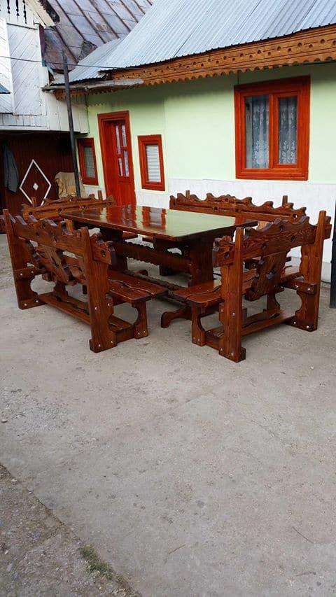 mobilier de gradina din lemn masiv 3