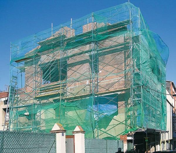 plasa protectie schela casa termoizolare vata bazaltica