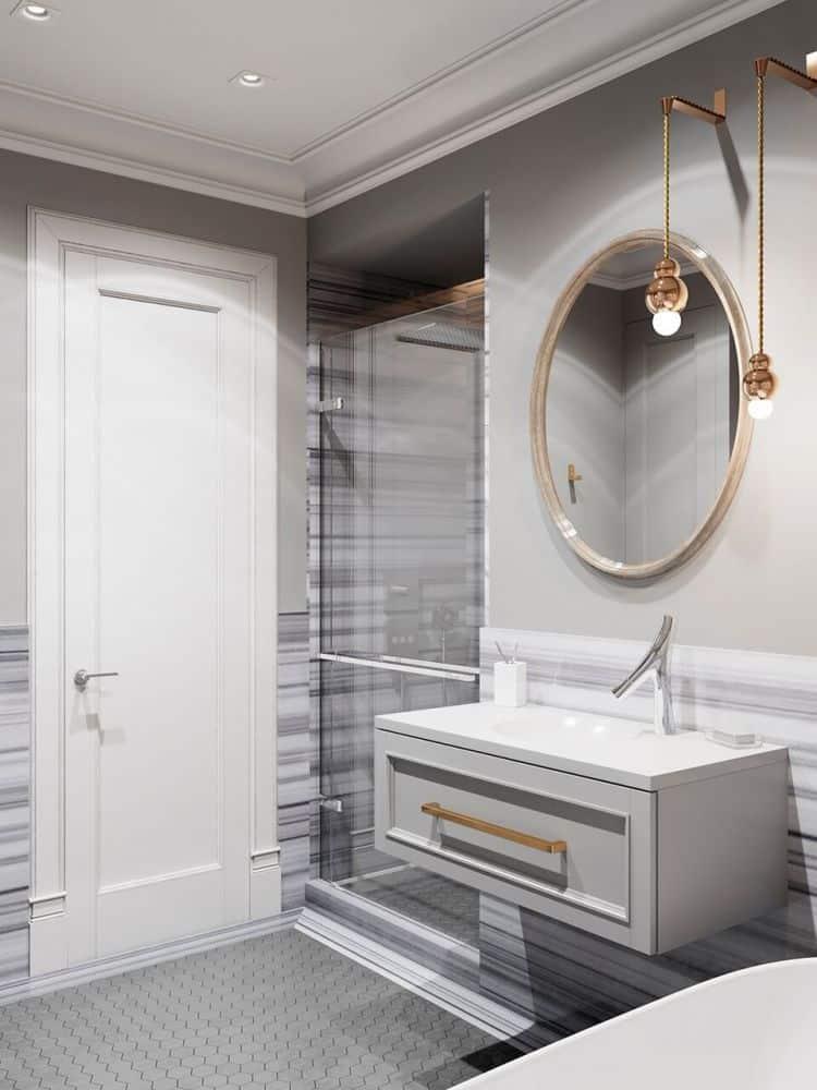 Design apartament in stil clasic modern casa si design for Amenajare baie garsoniera