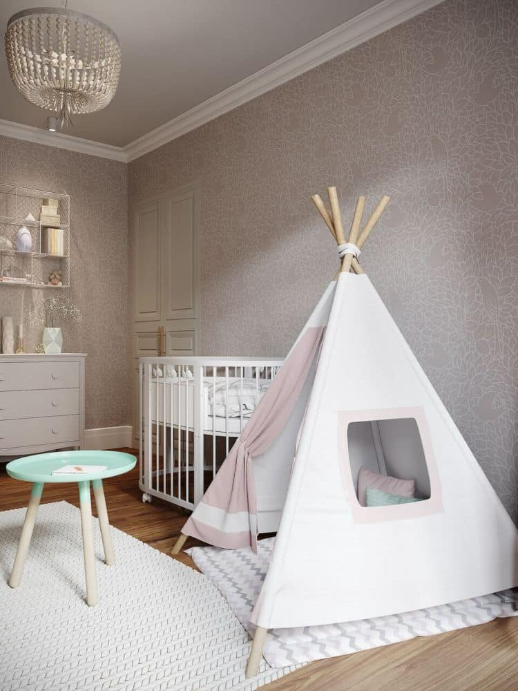 cort pentru camera copiilor