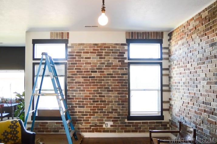 placare perete cu caramida brikston