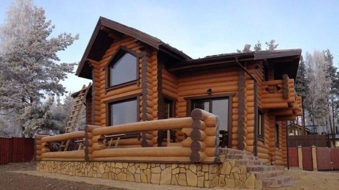 Proiect Casa Din Lemn.Proiect Casa Din Busteni