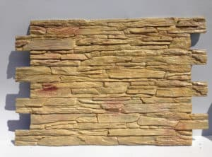 panou decorativ piatra nisipoasa crem
