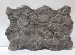 panour decorativ piatra naturala gri